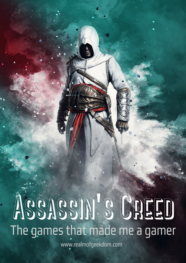 Assassin's Creed: the games that made me a gamer. Altaïr image from @Amaynut_Y