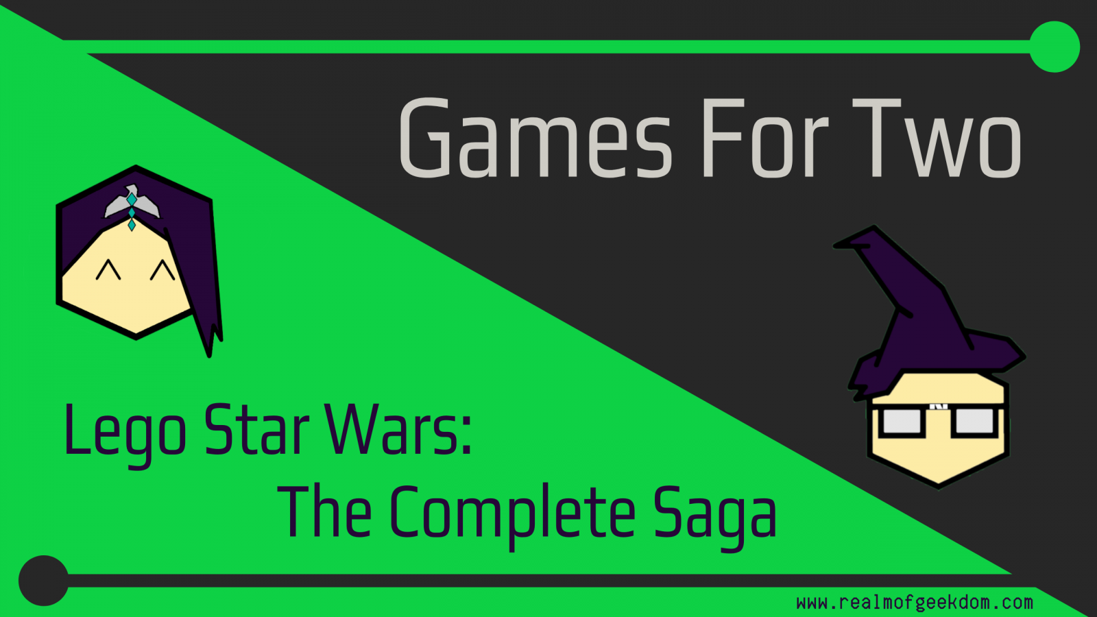 Games for Two - Lego Star Wars The Complete Saga