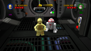 Team work in Lego Star Wars: The Complete Saga