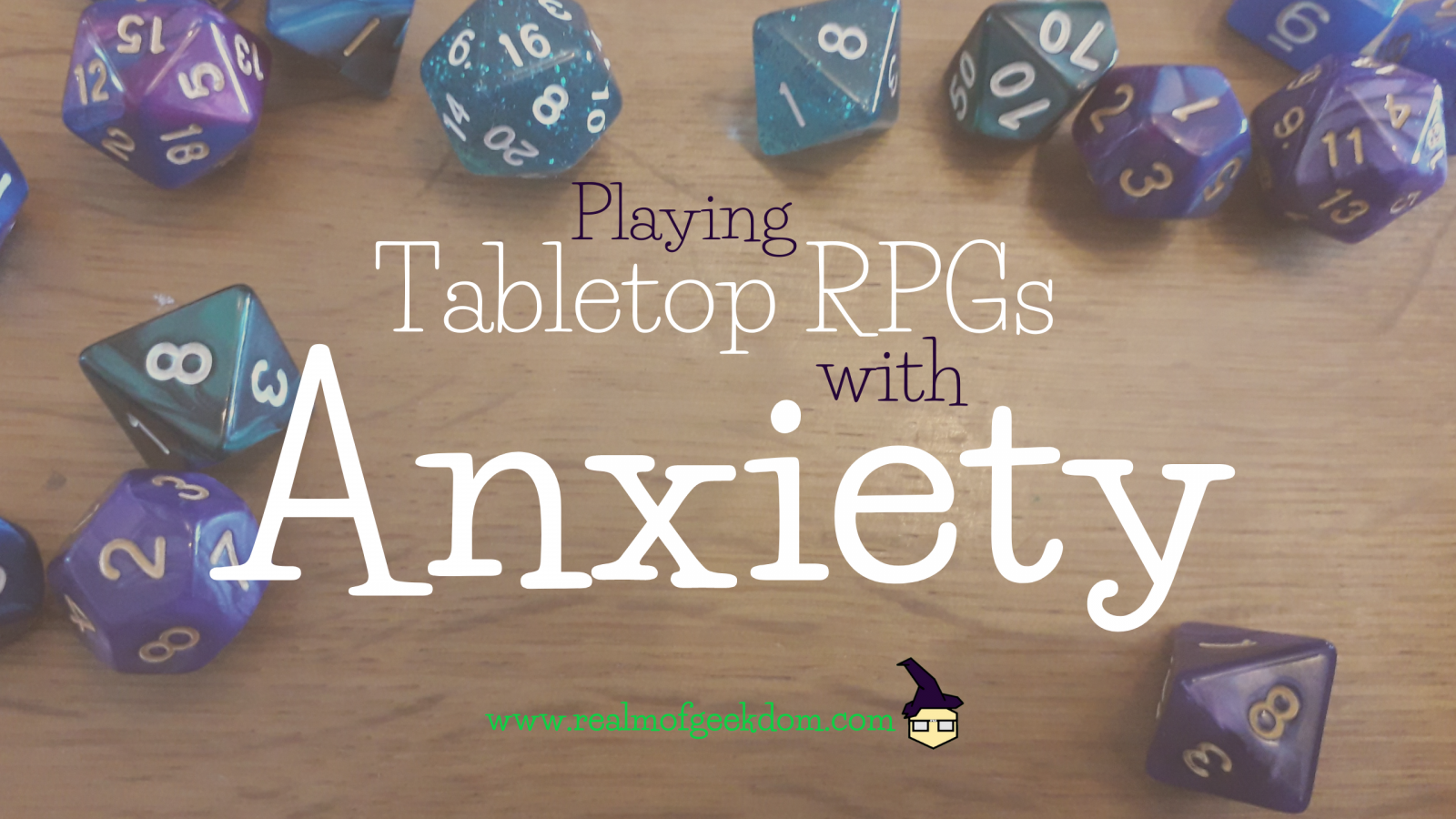 Playing RPGs with Anxiety title image