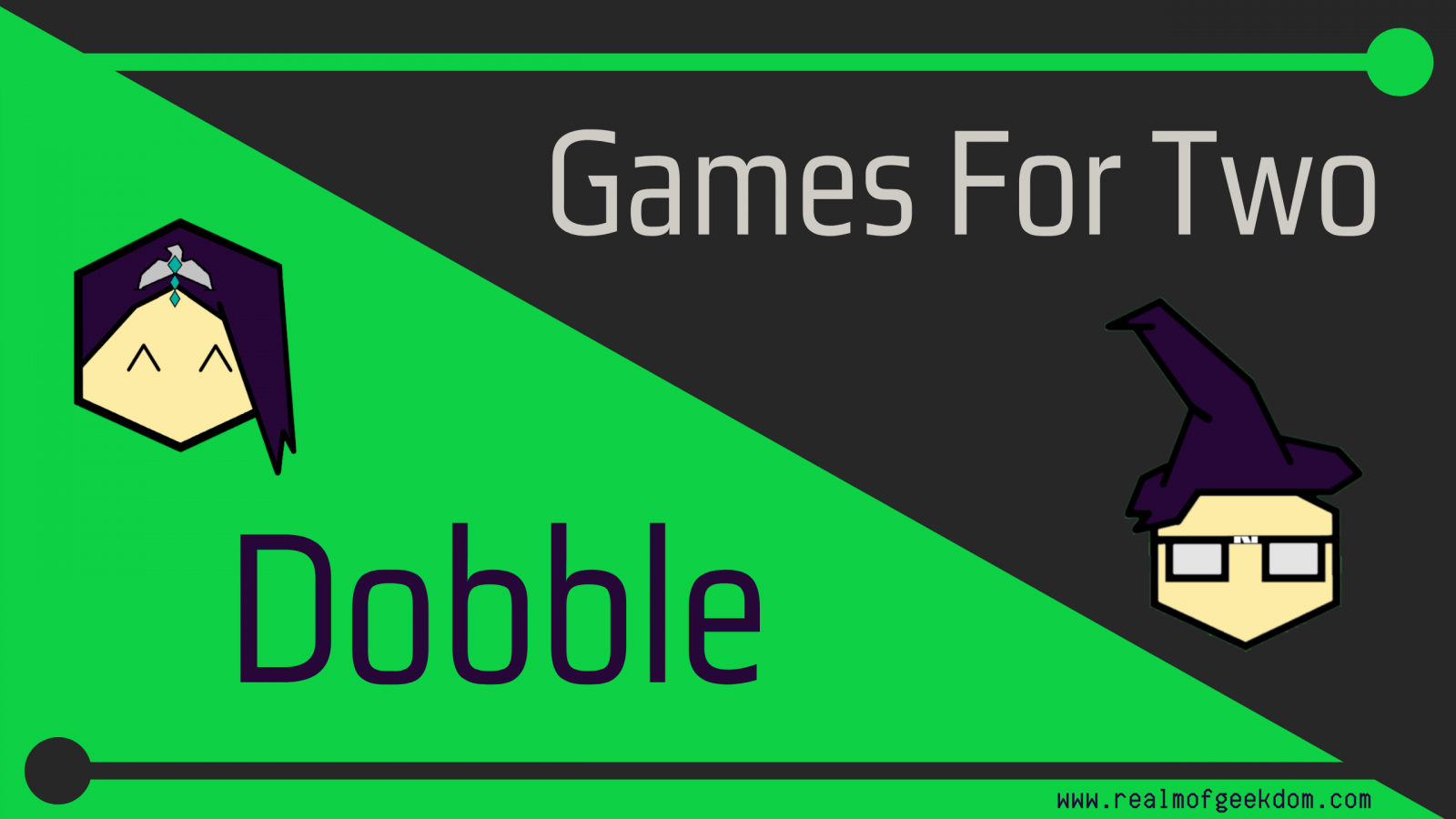 Games for two title image - dobble