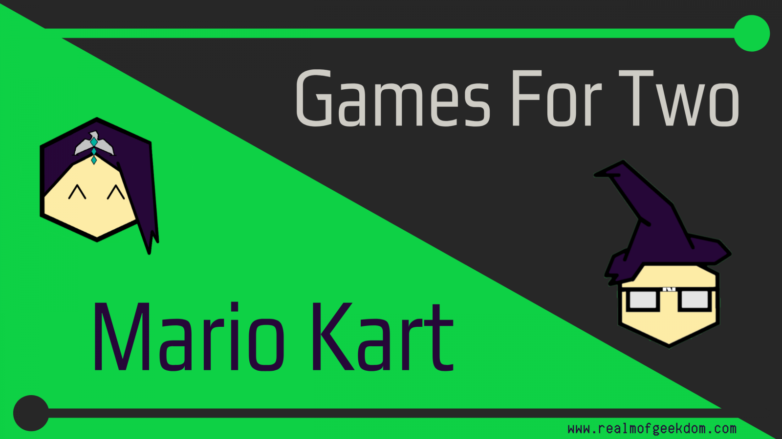 Games For Two Mario Kart Title Image