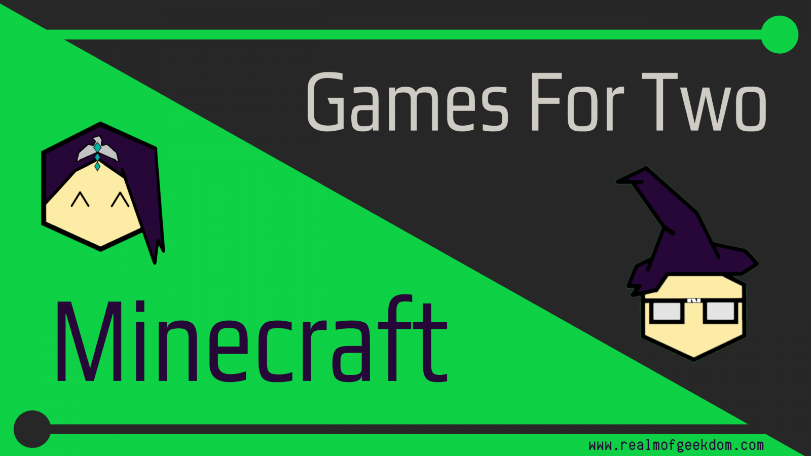 Games for Two Minecraft Title