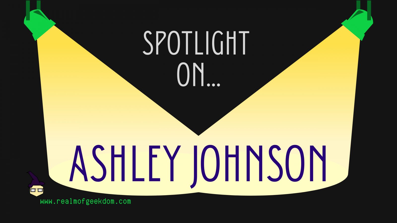 Ashley Johnson birthday spotlight title post