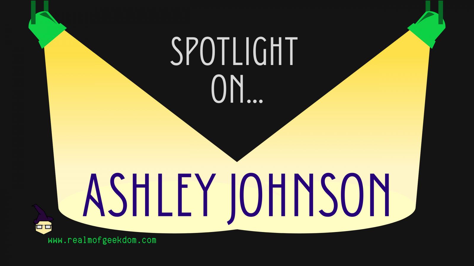 Ashley Johnson birthday spotlight title post