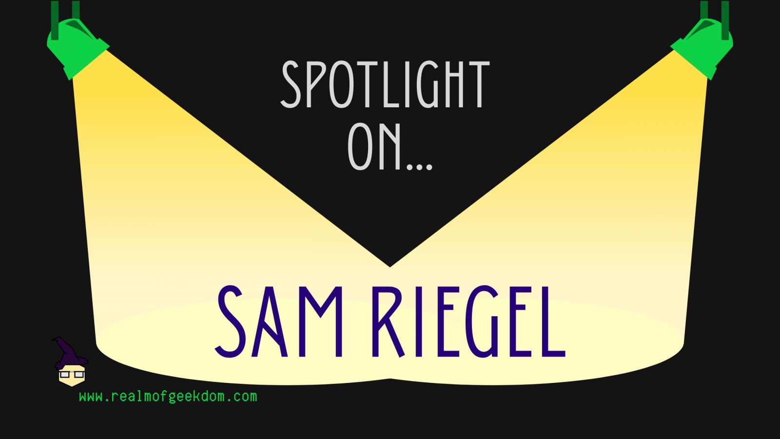 Sam Riegel Birthday spotlight title
